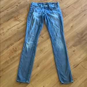 LUCKY BRAND Charlie Skinny Jeans Size 00 / 24 long
